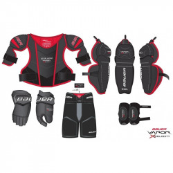 Kit complet de protection Vapor XVelocity yth BAUER HOCKEY