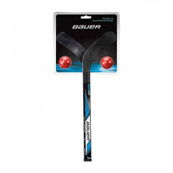 Kit mini crosses et balles Street Hockey BAUER HOCKEY