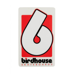 Birdhouse Stickers B Logo Small