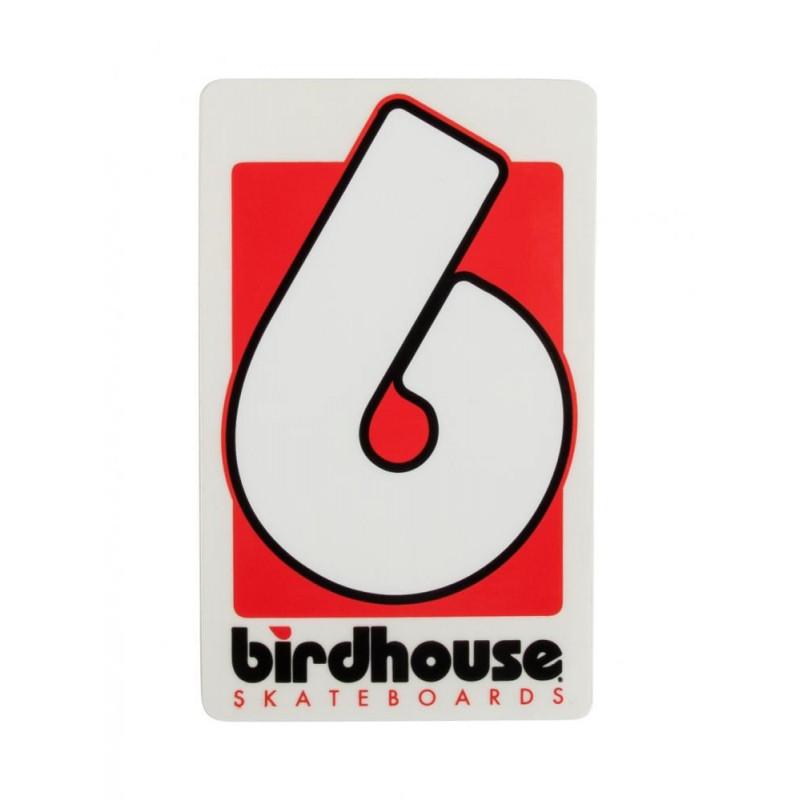 Birdhouse Stickers B Logo Small