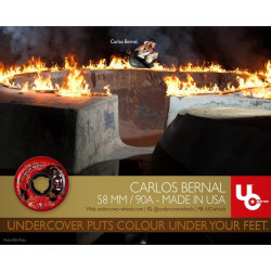 Carlos Bernal Circus 58mm/90a roue undercover