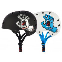 screaming hand casque Bullet x Santa Cruz