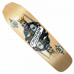 "DEAD KING 8.8"" PLATEAU CRUZADE SKATEBOARDS"