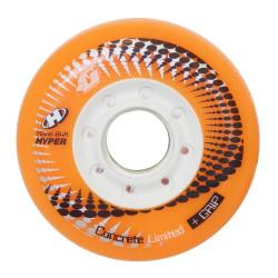 CONCRETE+grip 80mm-84A NOIRE hyper ROUE ROLLER