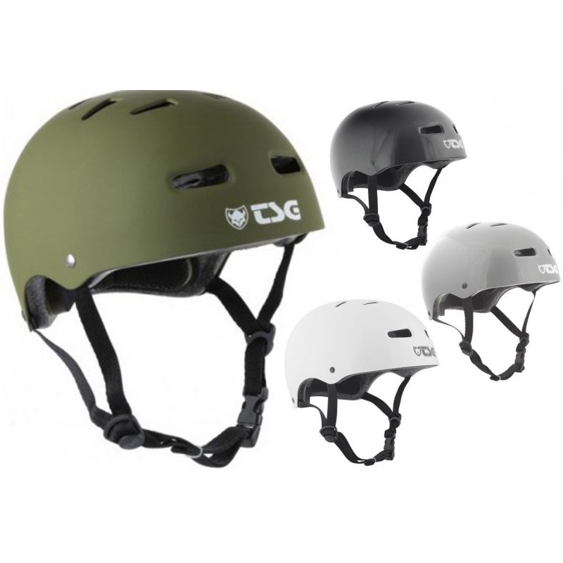 SKATE/BMX INJECTED TSG CASQUE OLIVE