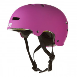 EVOLUTION SOLID COLORS CASQUE TSG (flat PURPLE PINK)
