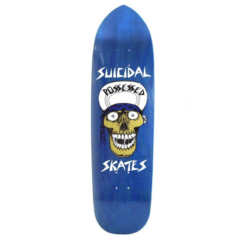 "Punk Point Skull 8.75"" DOGTOWN x SUICIDAL deck skate"