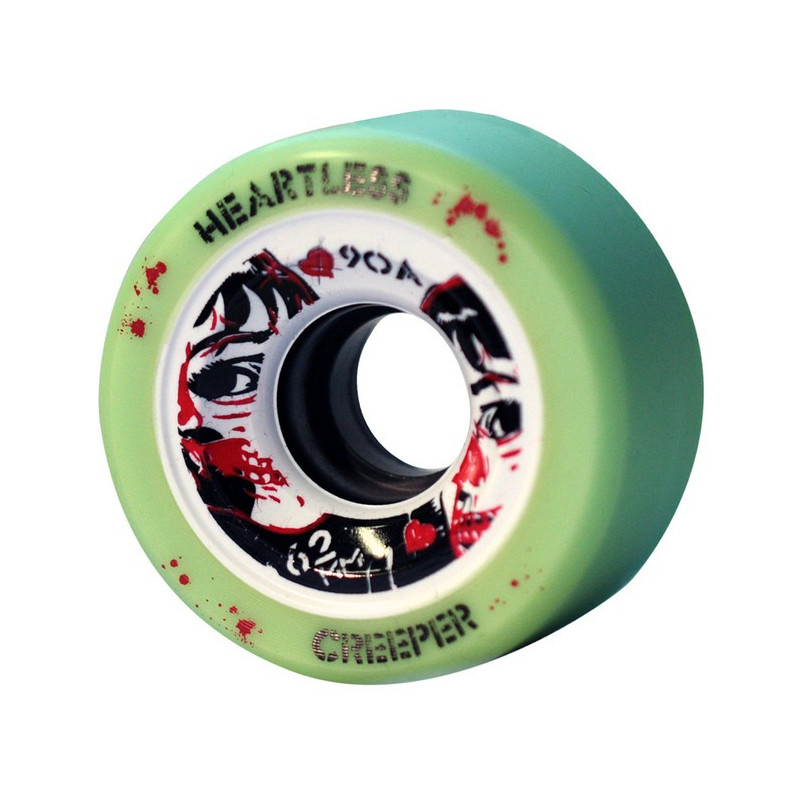 roues heartless creeper mint 62mm 90a
