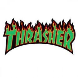 THRASHER FLAMME LOGO VERT