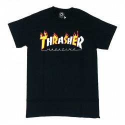 THRASHER TEE SHIRT FLAME MAG