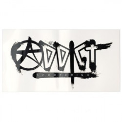 STICKERS ADDICT LOGO