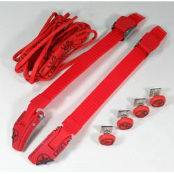 Pièces Détachées roller Agressif, Street - USD Legacy custom kit rouge spareparts