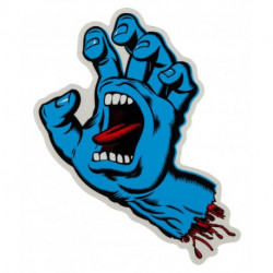 screaming hand 7cm stickers...
