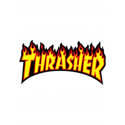 BIG STICKERS THRASHER