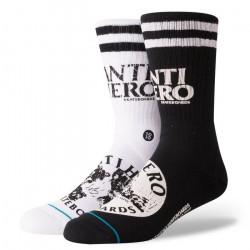 ANTIHERO NOIR stance SOCKS...