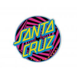 Party Dot Santa Cruz Sticker