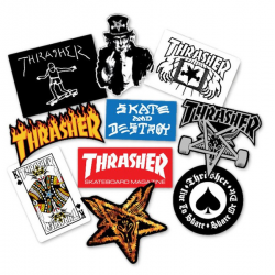 Thrasher Sticker Pack...