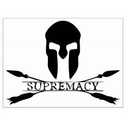 Autocollants Supremacy Logo