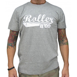tee shirt roller n co classic GRIS