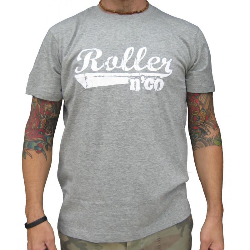 tee shirt roller n co classic GRIS