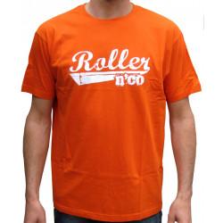 tee shirt roller n co classic ORANGE