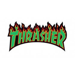 BIG STICKERS VERT THRASHER