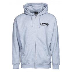Thrasher Zip Hoody Logo SWEAT