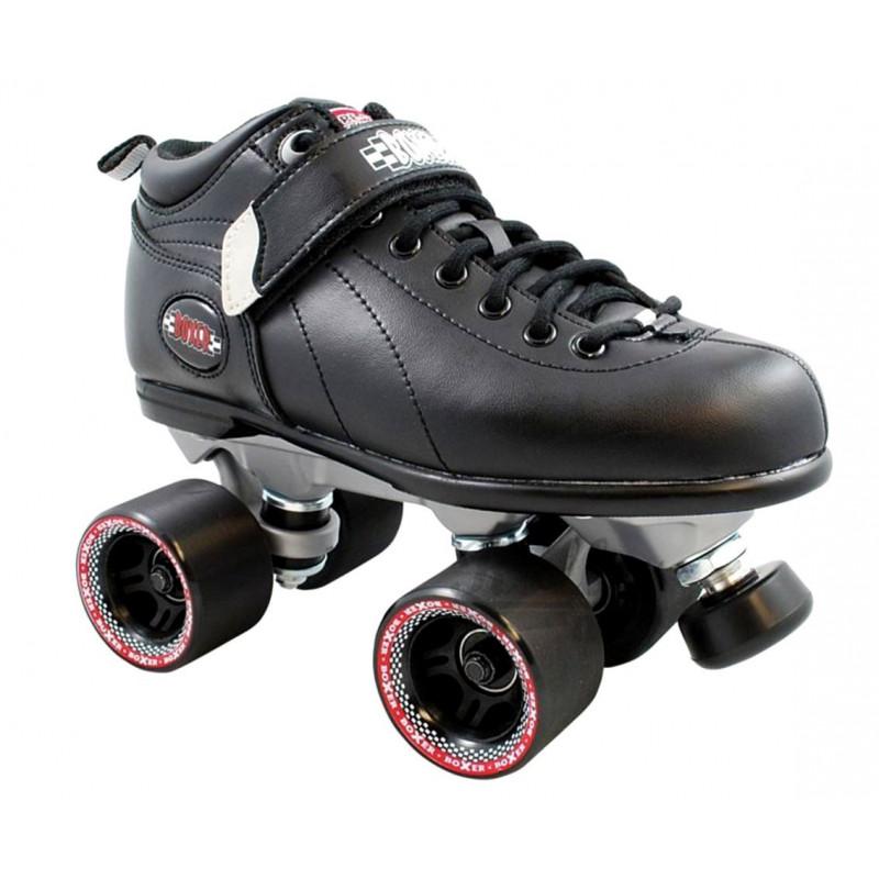 Roller Quad - Boxer noir Sure-grip roller quad