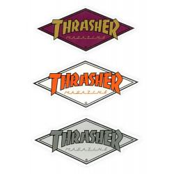 Diamond Logo Thrasher Stickers