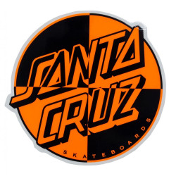Crash Dot Santa Cruz Sticker