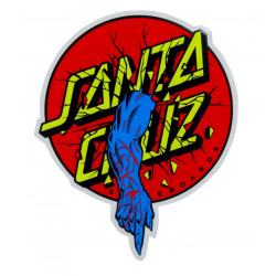 Rob Dot Santa Cruz Sticker