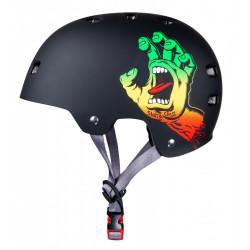 screaming hand rasta casque...