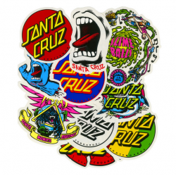 SANTA CRUZ x10 STICKERS pack