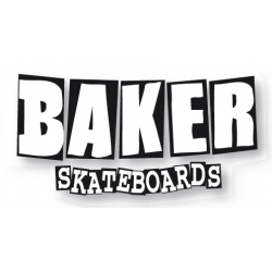 BAKER SKATEBOARDS Sticker