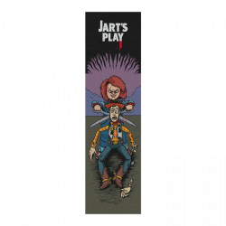 "Play 9"" Grip Jart Skateboard"