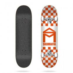 House Logo Checker Orange...