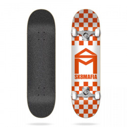 House Logo Checker Orange...