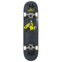 "SKULLY black mini 7.25""..."