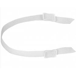 Pro Guard Buckle White Chin...
