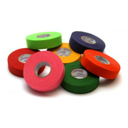 Tape couleur rose fluo 25m hockey, roller hockey