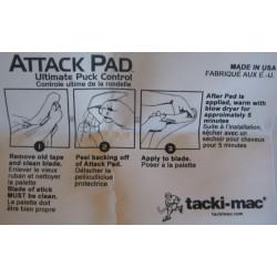 Accessoire Crosse Hockey, Roller Hockey - Tacki-Mac BLANC BLADE tape joueur HOCKEY