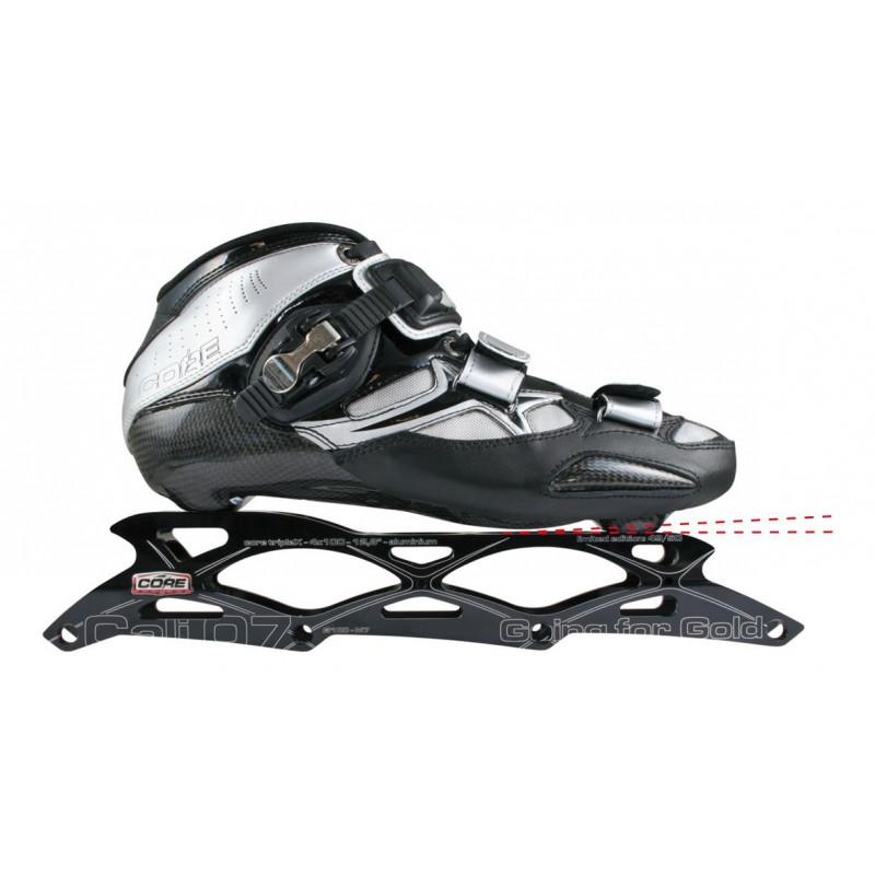 Accessoire roller race, vitesse, course - Cale d'inclinaison avant arriere