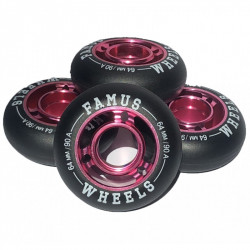 Roues Girly Pink 64mm 90A...