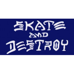 SK8 & DESTROY BLUE THRASHER