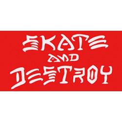 SK8 & DESTROY RED THRASHER