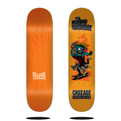 CRUZADE Skateboard Deck The...