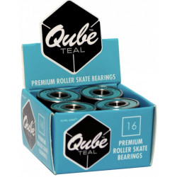 Roulements QUBE Teal x16