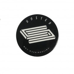 Sticker United Black Logo
