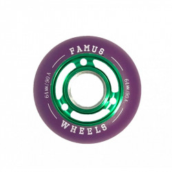 Roues FAMUS Green Purple...