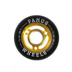 Roues FAMUS Flash 72mm /...